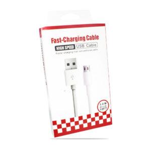 Cable Micro 5 PIN 3 MTS Grueso Alta Calidad