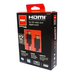 Cable HDMI RCA 3.6 MTS DH12 HHF