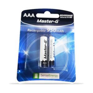 Pila Recargable Master-G AAA Blister
