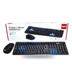Teclado + Mouse Inalámbrico RCA TM400W