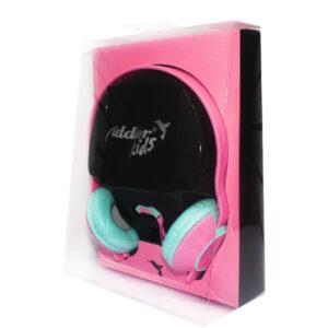 Audifono Fiddler Kids Rosado Grande U9