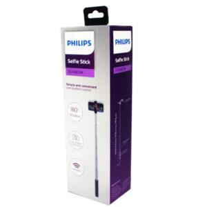 Baston Selfie Philips BT Aluminio DLK3616 Negro