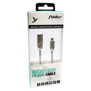 Cable Fiddler Metal Micro 5 Pin Metal Alta Calidad