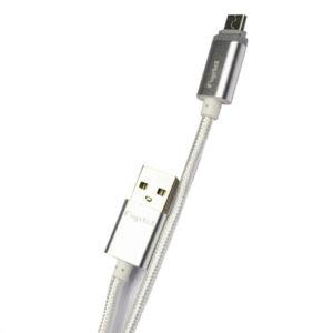 Cable Fujitel Soga Y Luz Micro 5 Pin 02s Plata
