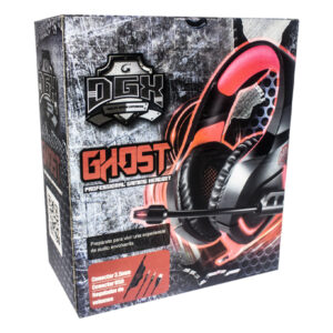 Audifono Digilife Gamer Ghost Rojo 31003