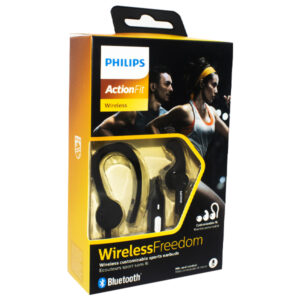 Audifono Philips Manos Libres She 7800 Action Fit Negro