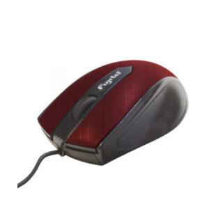 Mouse Fujitel Usb Optico Wms029R Rojo