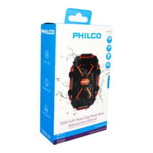 Power Bank Philco 5200 Mah Heavy Duty 79pbk05287